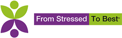 From Stressed to Best Color Logo